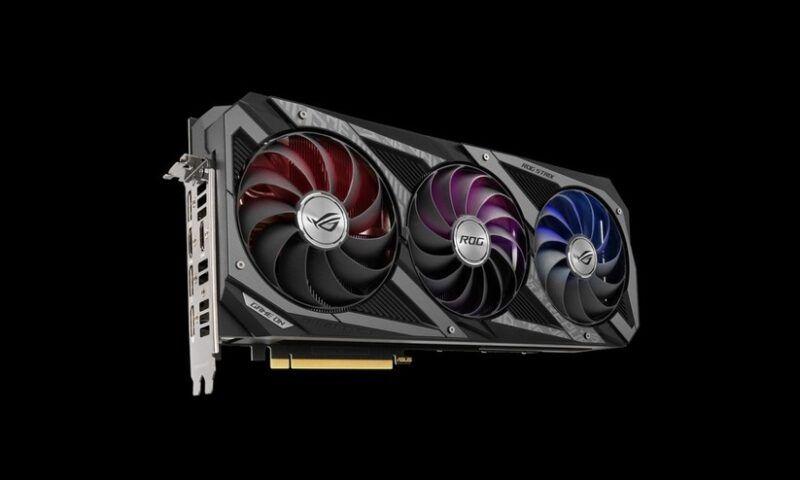 ASUS presenta le sue GeForce RTX 3070 custom