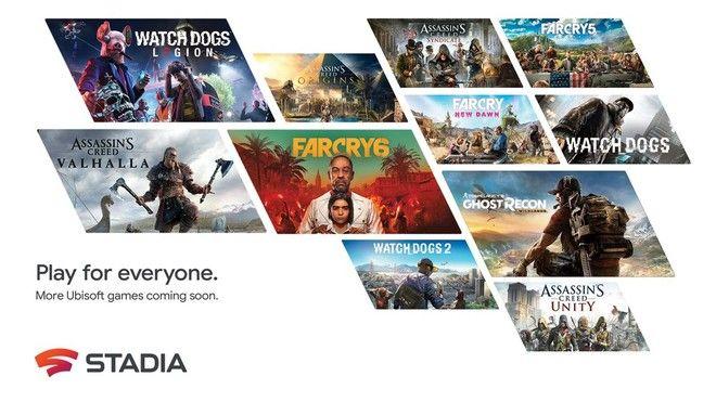 Google Stadia: 11 giochi di Ubisoft in arrivo nel catalogo