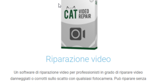CAT Video Repair riparare video danneggiati in 3 mosse