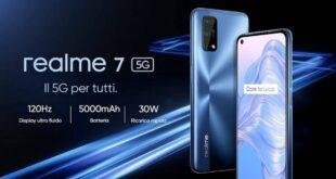 Realme 7 5G è ufficiale: ecco tutti i dettagli