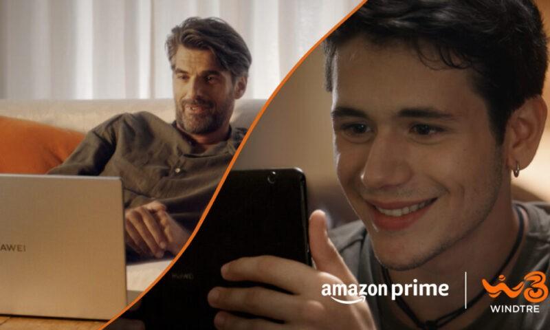 WINDTRE: la nuova offerta con Super Fibra e Prime Video