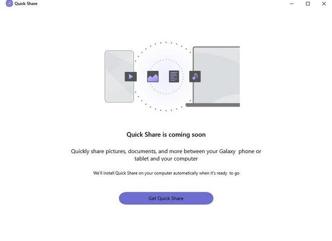 Windows 10: in arrivo il Quick Share di Samsung