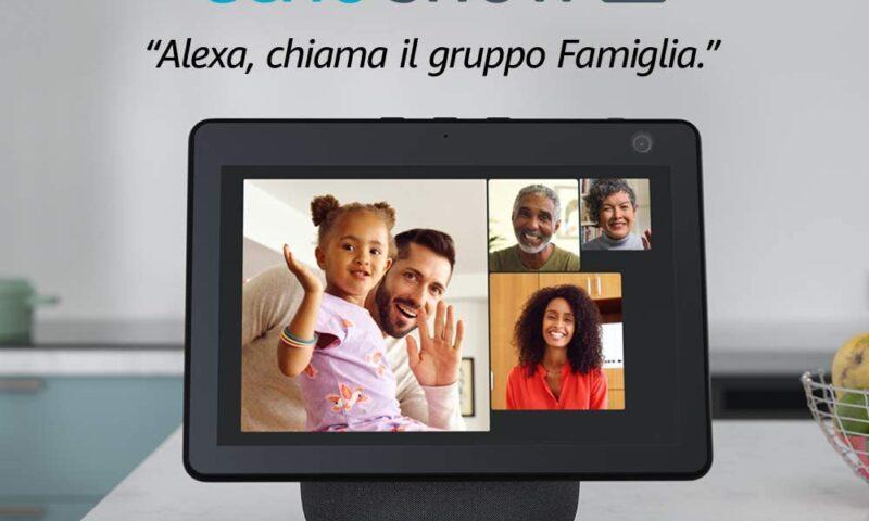 Amazon Echo Show arriva in Italia, aperti i preordini
