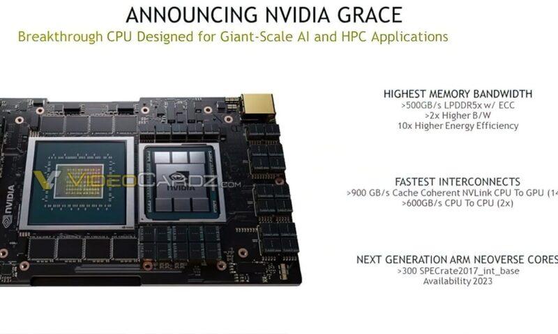 Nvida Grace: la nuova CPU di Nvidia