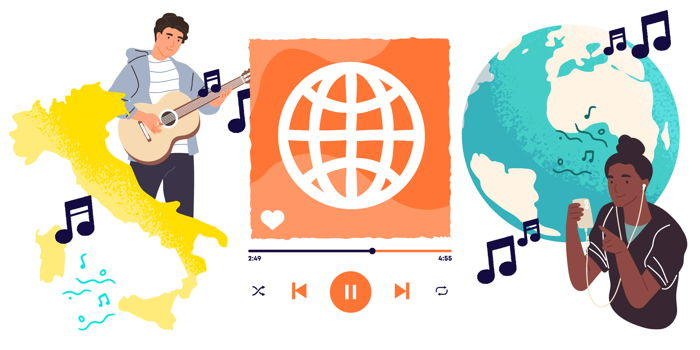 La musica italiana alla conquista del mondo: i cantanti più famosi all'estero e i nuovi linguaggi