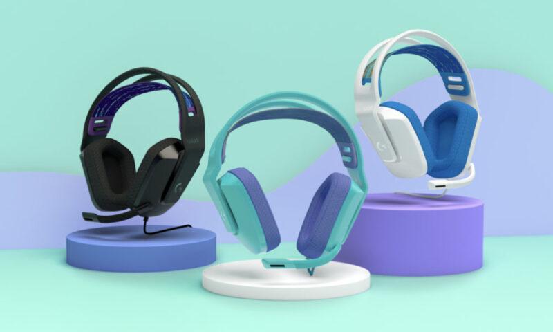 Logitech presenta nuove cuffie e mouse da gaming