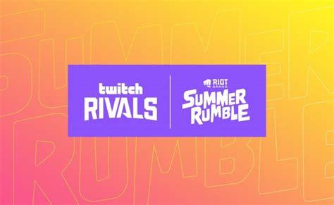 Il Twitch Rivals x Riot Games Summer Rumble inizia in tutta Europa