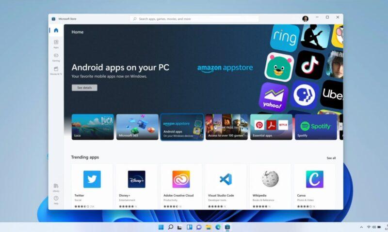 Windows 11: anche il nuovo Microsoft Store vuole essere inclusivo, in futuro vedremo Steam ed Epic Games Store?