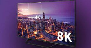 Certificati più di 70 televisori in 8K