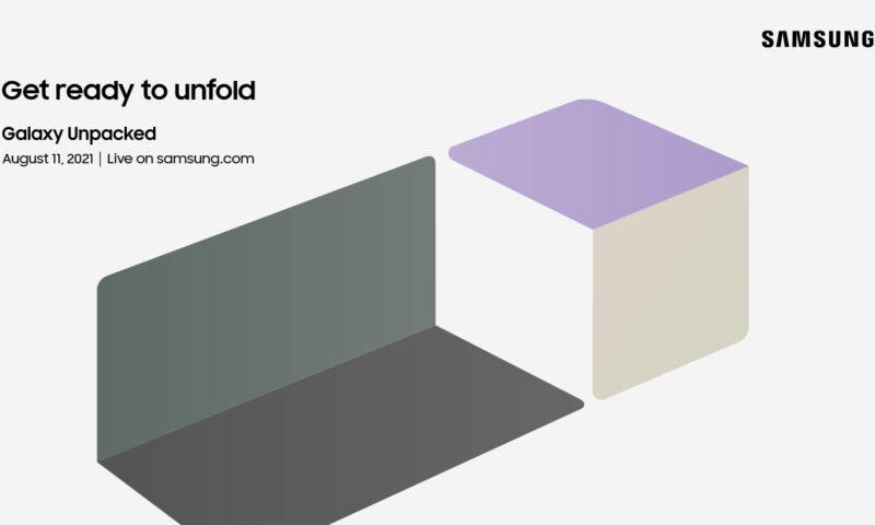 Galaxy Unpacked: il comunicato stampa ufficializza la presenza dei nuovi Fold