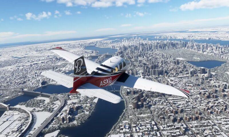 Flight Simulator: la versione Xbox richiederà 100 Gb