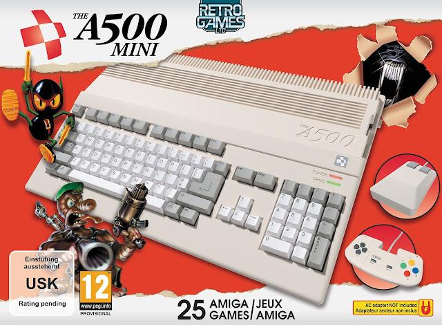 THEA500 Mini: in arrivo la rivisitazione dello storico Amiga